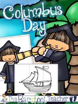 Columbus Day Puzzles FREEBIE