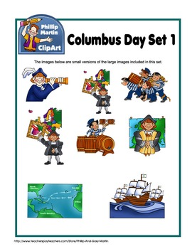 Columbus Day Set 1