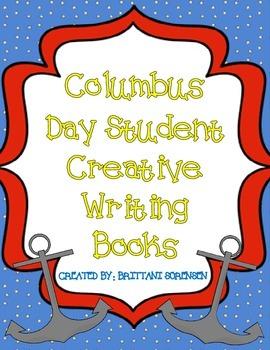 Columbus Day Student Creative Writing Book