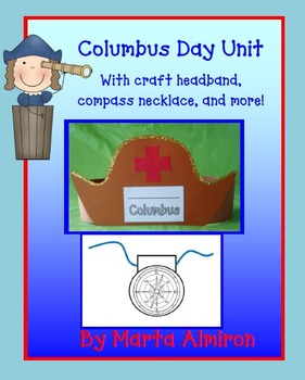 Columbus Day Unit with Headband and Compass Necklace