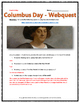 Columbus Day - Webquest with Key (Christopher Columbus and
