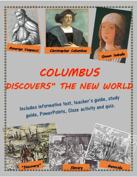 """Columbus """"Discovers"""" the New World - the good, the bad, an"""