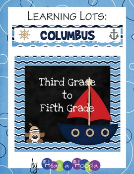 Columbus Games and Activities for 3rd, 4th and 5th Grades