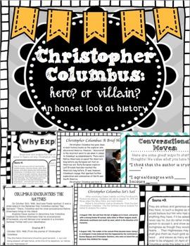 Christopher Columbus: Hero or Villain?