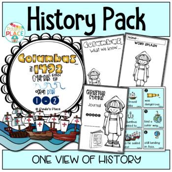 Columbus Day - English Tasks for K-1