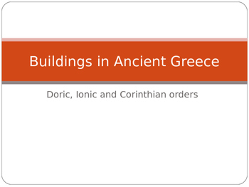 Columns in Ancient Greece