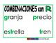 Combinacion de consonantes verde