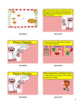 Combinations Organized List Papa's Pizzeria