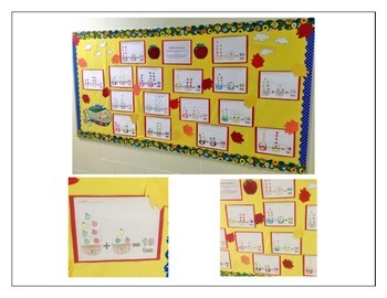 Combinations to 10- Apple/Fall themed math activity