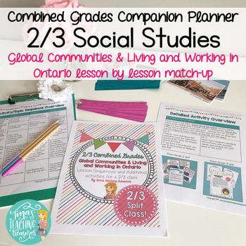 Combined Grades Social Studies: Grade 2/3 People and Environments