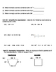 Combining Like Terms Simplifying Expressions Quiz Test or Review