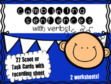 Combining sentences with Verbs