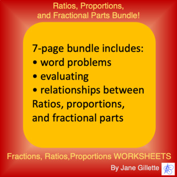 Combo Set: Ratios, Proportions, and Fractional Parts