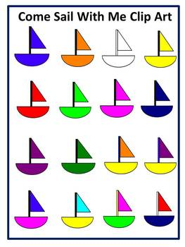 Come Sail with Me Clip Art