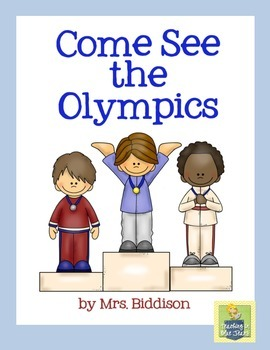 Come See the Olympics Sight Word Book - Emergent Reader