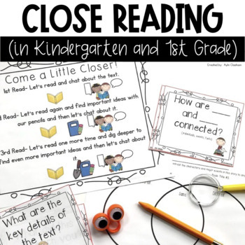 Close Reading in Kindergarten and 1st Grade
