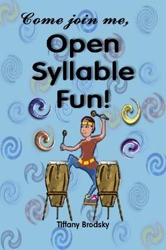 Come join me, Open Syllable Fun! e-book in PDF
