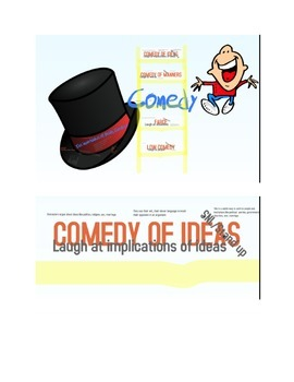 Comedic Ladder, Humor Theory, Importance of Being Earnest,