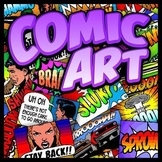 Comic Art - Painting Project