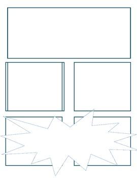 Comic Book Blanks