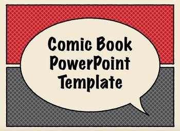 Comic Book Presentation Templates