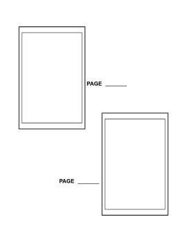 Comic Book Thumbnail Template