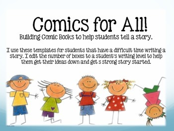 Comic Books for Writing