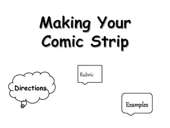 Comic Strip Book Project