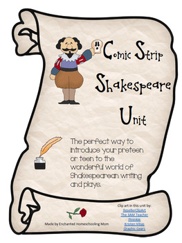 Comic Strip Shakespeare Unit