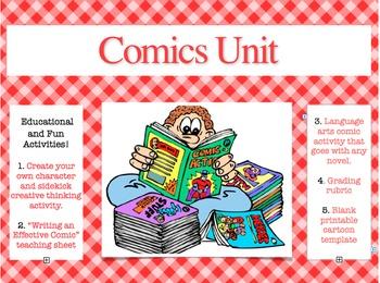 Comic Unit: Educational and Fun
