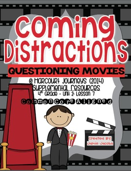 Coming Distractions (Journeys 4th Grade - Supplemental Materials)
