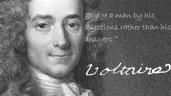 Coming to Conclusions ~ The Story of Voltaire ~ Part 3 ~ Q