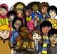 CommUNITY Classroom Kids: Set 1 (28 Piece Clip-Art of Dive