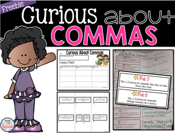 Comma Lesson Freebie