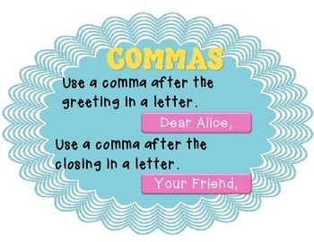 Comma Posters