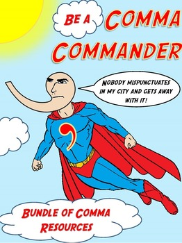 Comma Worksheets, Activities, and Test