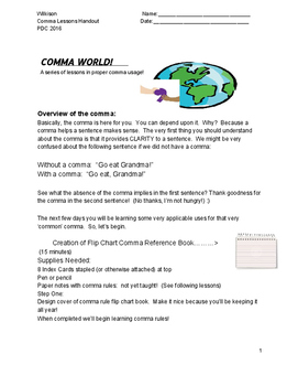 Comma World