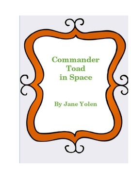 Commander Toad in Space Literature Log