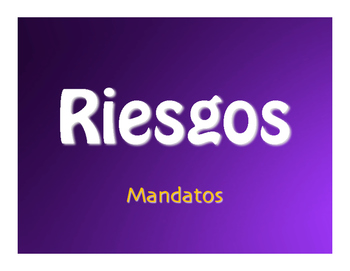 Spanish Commands Jeopardy-Style Review Game