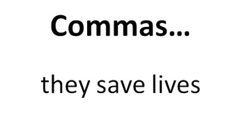 Commas PowerPoint