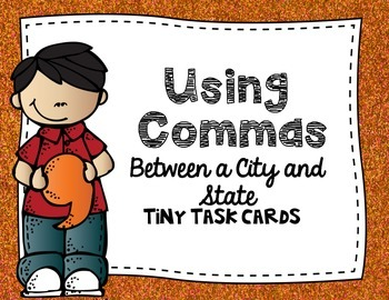Commas:  Using Commas Between a City and a State