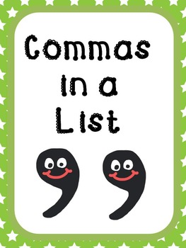 Commas in a List!