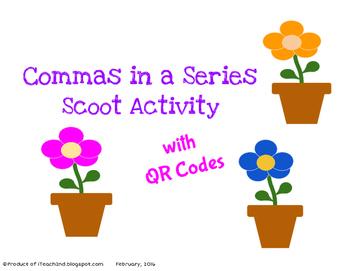 Commas in a Series - QR codes