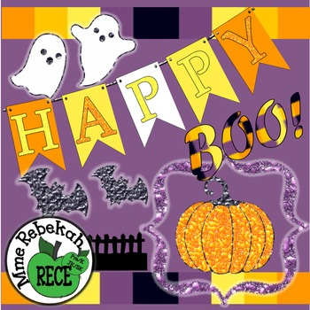 Commerical Use Clipart Halloween 100+ items