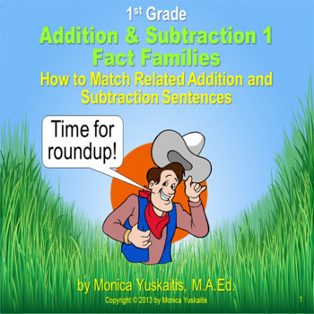Common Core 1st - Addition & Subtraction 1 - Beginning Fac