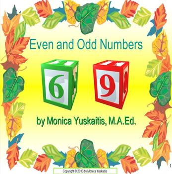 Common Core 1st - Even and Odd Numbers