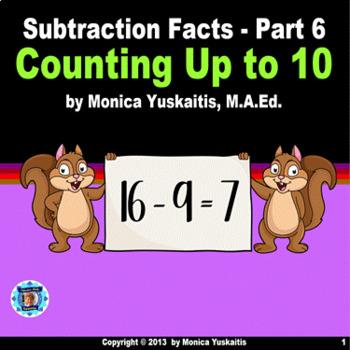 Common Core 1st - Subtraction Facts 6 - Building a Ten