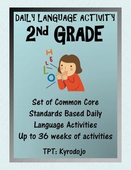 Year Long Common Core 2nd Grade Daily Language