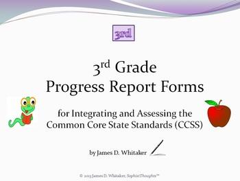 Common Core 3rd Grade English Standards Cumulative Progres