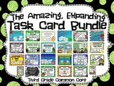 Common Core 3rd Grade- Expanding Math Task Card Bundle-51